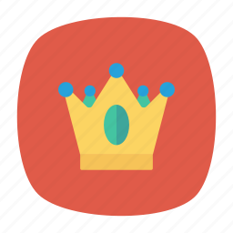 award, crown, king, victory icon