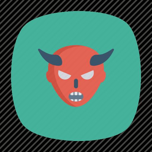 devil, dracula, ghost, vampire icon