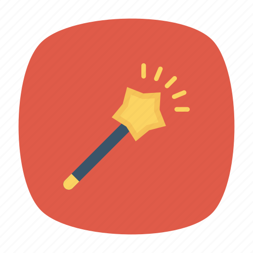 creation, magicstick, tool, wizard icon