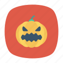 clown, halloween, jester, pumpkin icon