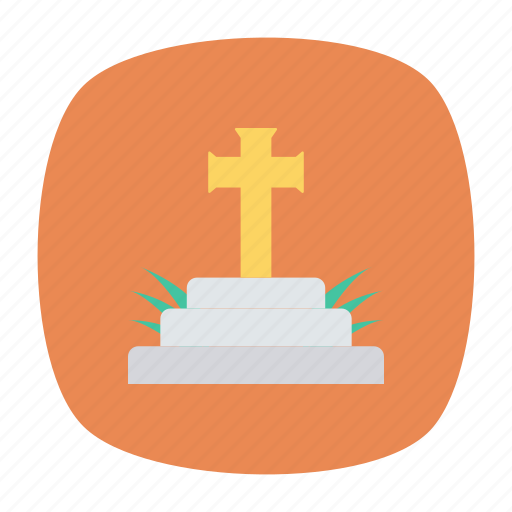 casket, cemetery, death, rip icon