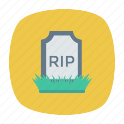 coffin, grave, rip, tombstone icon