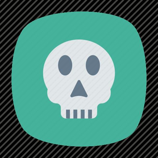 ghost, roger, skeleton, skull icon