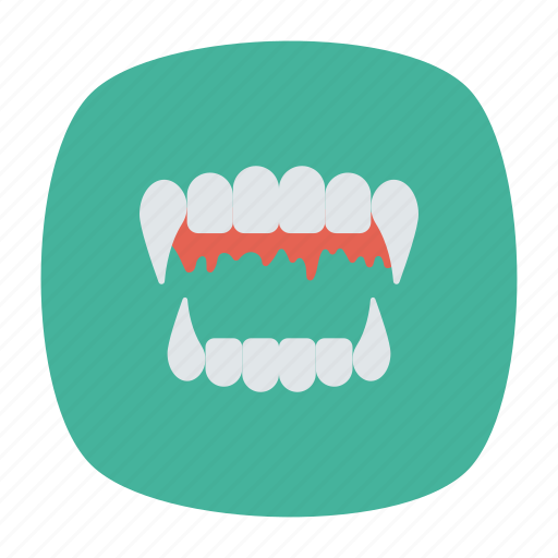 Devilteeth, dracula, fangs, vampire icon - Download on Iconfinder