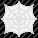 spider, spiderweb, terror, scary, spooky icon