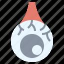 ball, circle, circular, eye, halloween, scary icon