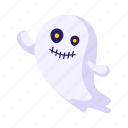 emoji, ghost, halloween, holiday icon