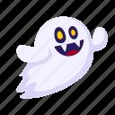 emoji, ghost, halloween, holiday icon