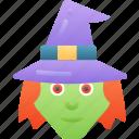 echanter, evil, halloween, sorcerer, witch icon