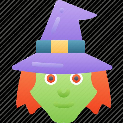 Echanter, evil, halloween, sorcerer, witch icon - Download on Iconfinder