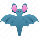 animals, bat, evil, flying, halloween icon