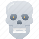 dead, evil, halloween, skelenton, skull icon