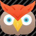 owl, halloween, bird, evil, animal