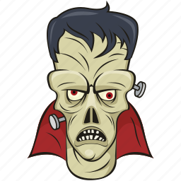 ghost, halloween, mask, monster, zombie icon