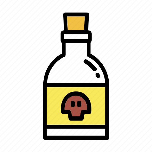danger, halloween, medicine, poison, potion, potionbottle icon