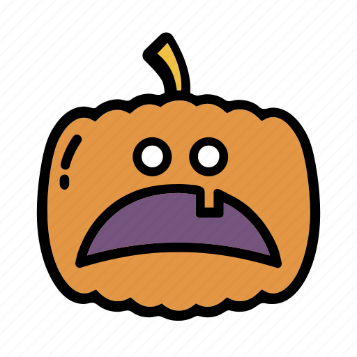 decoration, halloween, horror, pumpkin icon