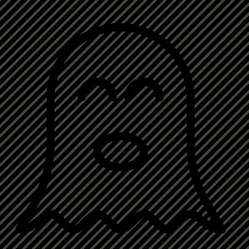 ghost, halloween, horror, ios, scary, spirit, spooky icon