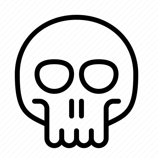 death, halloween, horror, ios, scary, skeleton, skull icon