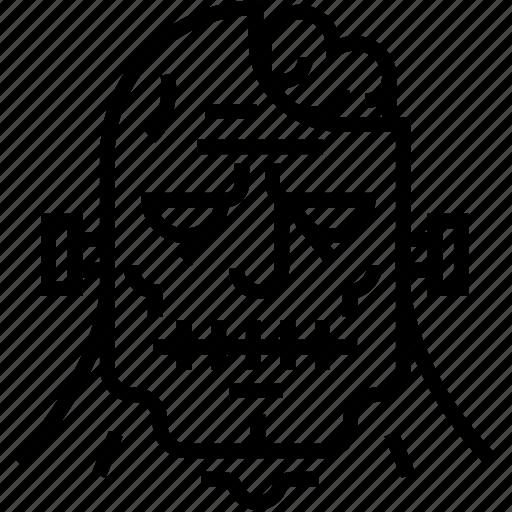 avatar, frankenstein, halloween, monster, scary, spooky, zombie icon