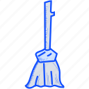 broom, broomstick, halloween, witch icon