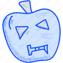 empty, halloween, pumpkin icon