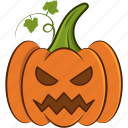 decoration, halloween, holiday, pumpkin, scary, spooky icon icon