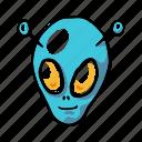 alien, galaxy, halloween, scary, science, space, ufo