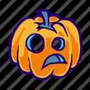 holiday, jack o lantern, pumpkin, head, horror, halloween, face