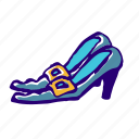 stick, witch, magic, witchcraft, shoe, broom, poison icon