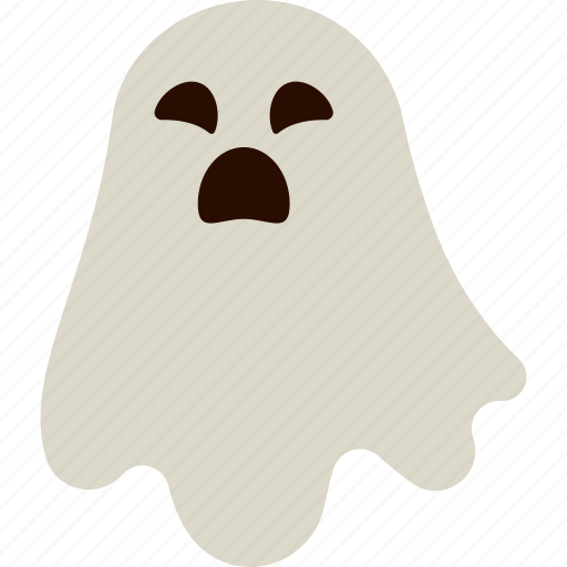 character, costume, ghost, halloween, sad, spooky icon