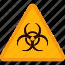 biological hazard, halloween, hazard, sign, warning, yellow icon