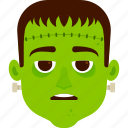 character, costume, frankenstein, halloween, kid icon