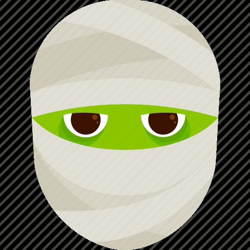 character, costume, halloween, kid, mummy icon