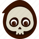 character, costume, death, halloween, kid icon