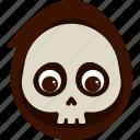 character, costume, death, halloween, kid