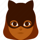 cat, character, costume, girl, halloween icon