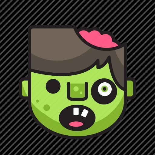 halloween, monster, movie, zombie icon