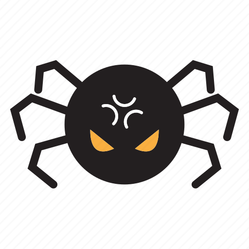 halloween, monster, scary, spider icon