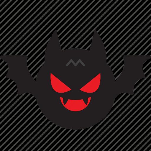 bat, dracula, halloween, night icon