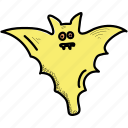 bats, creepy, halloween, horror, scary, spooky, vampire icon