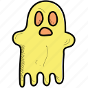 ghost, halloween, holiday icon