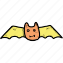 animal, bat, halloween icon