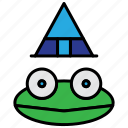 frog, halloween, spooky, toad icon