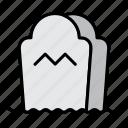 grave, gravestone, graveyard, halloween, rip, tombstone icon