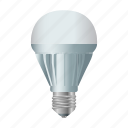 bulb, electricity, equipment, halogen, light, source icon
