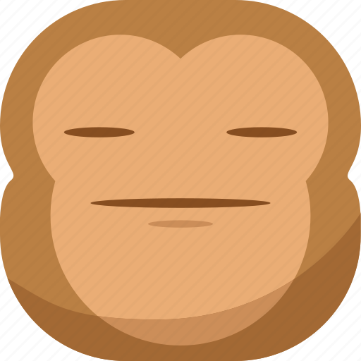 chipms, emoji, emoticon, envy, faceless, monkey, smiley icon
