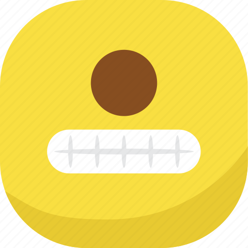 avatar, cyclops, emoji, emoticon, emotion, smiley, teeth icon