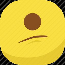 avatar, cyclops, emoji, emoticon, emotion, sad, smiley icon