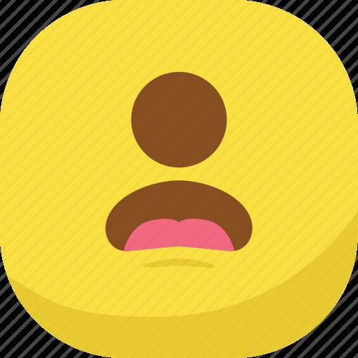 avatar, cyclops, emoji, emoticon, sad, smiley icon