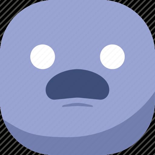 avatar, emoji, emoticon, emotion, smiley, surprised, wonder icon